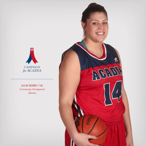 Thumbnail Image for Allie Berry ('18): basketball champion, community mentor