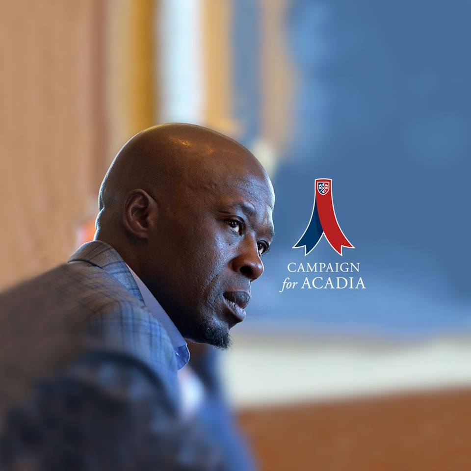 Featured Image for Clive Anderson ('89) believes Acadia is a place where you can dream big