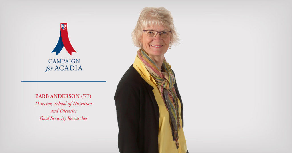 Featured Image for Barb Anderson ('77): nutrition and dietetics leader, teacher, explorer