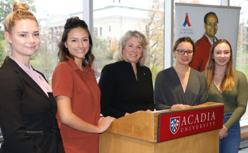 Thumbnail Image for Alumna Dr. Elizabeth Cannon supports Campaign for Acadia