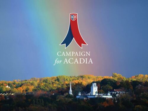 Thumbnail Image for Campaign for Acadia surpasses $75-million goal